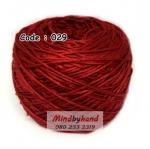 ไหมเบบี้ซิลค์ (ฺBaby Silk) รหัสสี 029 สีแดงเลือดนก