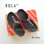 ** NEW ** FitFlop : ROLA : Hot Cherry : Size US 7 / EU 38