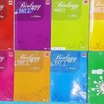 ►ออนดีมานด์◄ BIO 379U หนังสือกวดวิชาชีววิทยา พี่วิเวียน คอร์สสอบ PAT2 เล่ม 1-8 ครบเซ็ท มีสรุปเนื้อหาและโจทย์แบบฝึกหัด จดสวยด้วยปากกาสีและดินสอ จดครบเกือบทั้งเล่ม จดละเอียดทุกเล่ม มีจดเน้นจุดที่ควรระวัง จุดที่อย่าสับสน ข้อห้ามสำคัญ