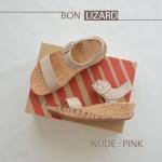 * NEW * FitFlop BON LIZARD : Nude Pink : Size US 5 / EU 36