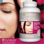 Trunature Healthy Skin Verisol Collagen, 240 Capsules คอลลาเจน2500mg/4เม็ด เพิ่มความยืดหยุ่นเปล่งปลั่งให้ผิวพรรณ (มา5กค)