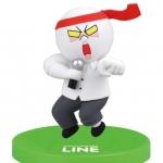 """""""พร้อมส่ง""""นำเข้าจากญี่ปุ่น 100% LINE Model LINE CHARACTER Figure Collection โมเดลตุ๊กตา line ตั้งโต๊ะ -Moon ร้องคาราโอเกะ"""