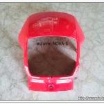 หน้ากาก NOVA-S สีแดง