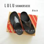 **พร้อมส่ง** FitFlop LULU Shimmersuede : Black : Size US 6 / EU 37