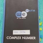 ►We Brain◄ MA FR32 หนังสือกวดวิชา คณิตศาสตร์ ม.5 จำนวนเชิงซ้อน มีสรุปเนื้อหา สูตรสำคัญ ก่อนตะลุยทำโจทย์แบบฝึกหัด มีข้อควรรู้ ข้อควรระวัง เทคนิคลัดเยอะมาก จดครบเกือบทั้งเล่ม จดละเอียด