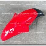 บังโคลนหน้า NOVA-RS สีแดง/ดำ