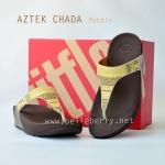 **พร้อมส่ง** รองเท้า FitFlop Aztek Chada : Pebble : Size US 6 / EU 37