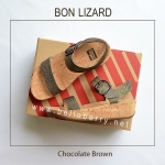 * NEW * FitFlop BON LIZARD : Chocolate Brown : Size US 8 / EU 39