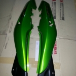 ฝาข้าง KR150-ZX สีเขียว แท้ศูนย์
