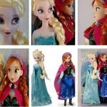 ตุ๊กตาอันนากับเอลซ่า จากfrozen