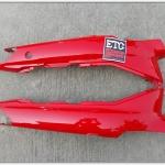 ฝาข้าง MATE-111 สีแดง แท้