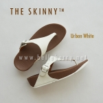 * NEW * FitFlop : The Skinny : Urban White : Size US 8 / EU 39