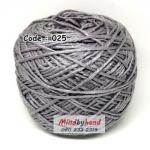 ไหมเบบี้ซิลค์ (ฺBaby Silk) รหัสสี 025 สีเทาเข้ม