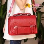กระเป๋าแฟชั่นXiaoxiang กระเป๋าสะพาย Retro -สีแดง