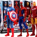 ตุ๊กตา Captain America/Spiderman/Iron Man ขนาด30 cm