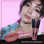 Pink Zigarette Ultra Matte lip cream #03 Joy Affair