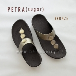** NEW ** FitFlop : PETRA (Sugar) : Bronze : Size US 5 / EU 36