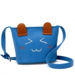 """""""พร้อมส่ง""""กระเป๋าแฟชั่นBeibaobao กระเป๋าสะพาย หน้าการ์ตูน น่ารักๆ -สีฟ้า"""