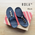 ** NEW ** FitFlop : ROLA : Black : Size US 7 / EU 38