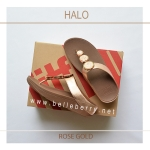 * NEW * FitFlop : HALO : Rose Gold : Size US 6 / EU 37