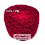 ไหมเบบี้ซิลค์ (ฺBaby Silk) รหัสสี 028 สีแดงเข้ม