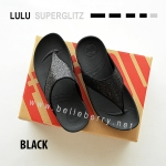 **พร้อมส่ง** FitFlop LULU Superglitz : Black : Size US 7 / EU 38