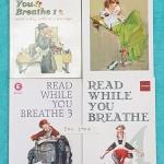 ►ครูพี่แนน Enconcept◄ ENG 190A หนังสือกวดวิชาภาษาอังกฤษ Read While You Breathe เล่ม 1-4 ในหนังสือมี Passage ฝึกอ่านจับใจความ มีแบบฝึกหัด และเฉลยครบทุกข้อ ครูพี่แนนเรียง Passage ตั้งแต่ระดับง่ายไปจนถึงระดับยาก หนังสือใหม่เอี่ยมทั้งเซ็ท ยกเว้นเล่ม 4 ที่มีจด