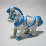 ม้าไขลานสีฟ้า