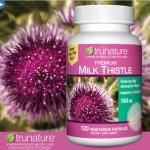 trunature Premium Milk Thistle 160 mg 120 แคปซูล สมุนไพรฟื้นฟูเซลล์ตับ ขับสารพิษ (สินค้าแนะนำ exp.Nov2019) มาแล้วจ้า