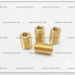ทองเหลืองต๊าฟเกลียว #12 เกลียวใน 8mm. OVERSIZE (4ตัว/ชุด)