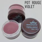 Limited หมดแล้วหมดเลย MMUMANIA Pot Rouge : สี Violet ลิปสติกเนื้อแมท สีชมพูม่วงอ่อน นู้ดหวานทนจริง