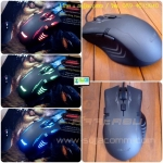 "USB Optical Mouse ""OKER"" (G220) Gaming ( ไฟ 4 สี )"