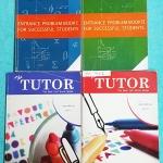 ►เดอะติวเตอร์◄ MA 750Z เซ็ทรวมข้อสอบ Entrance วิชาคณิตศาสตร์ มีหนังสือรวมโจทย์ Ent เล่ม 1-2 ,หนังสือเล่มเฉลยละเอียด 2 เล่ม ในหนังสือรวมโจทย์มีเขียนเล็กน้อยทั้ง 2 เล่ม เล่มเฉลยมีเฉลยละเอียดครบทุกข้อ แสดงวิธีทำละเอียด บางข้อเฉลยละเอียดด้วยลายมือเขียนของอาจา