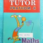 ►The Tutor◄ MA 6272 หนังสือเรียน วิชาคณิตศาสตร์ ป.4 เทอม 2 จดครบเกือบทุกหน้า ด้านหลังมีเฉลย ลายมือเด็กพออ่านได้