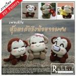 แพทเทิร์นตุ๊กตาถักลิงน้อยจอมซน Yoyo Cici