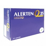 Alerten 25 mg 30 แคปซูล โคคิวเทน บำรุงหัวใจ บำรุงสมอง เพิ่มความจำและบำรุงผิว ลดริ้วรอย ให้ดูอ่อนวัย