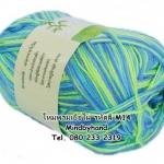 ไหมพรม Bamboo Cotton สีเหลือบ รหัสสี M14