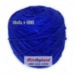 ไหมเบบี้ซิลค์ (ฺBaby Silk) รหัสสี 022 สีน้ำเงิน