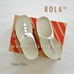 ** NEW ** FitFlop : ROLA : Urban White : Size US 6 / EU 37