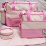 กระเป๋าสัมภาระคุณแม่ 5 ชิ้น Mummy (High-End รุ่น Huayao)
