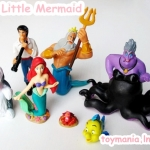 Little Mermaid figures ชุด 10