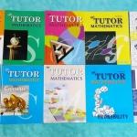 ►The Tutor◄ คณิตศาสตร์ ม.ปลาย เซ็ท 10 เล่ม มีสรุปสูตรสั้นๆ ก่อนลงมือทำแบบฝึกหัด โจทย์เยอะมาก มีสูตรลัดที่ควรรู้ ,Trick เทคนิคลัดต่างๆ ด้านหลังมีเฉลยแบบฝึกหัด หนังสือใหม่เอี่ยมทุกเล่ม