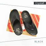 FitFlop : CRYSTALL : Black : Size US 8 / EU 39