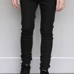 กางเกงขายาว ทรงเดฟ สีดำ