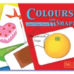 SKF-04 บัตรคำ-บัตรภาพ ชุดสีสันและรูปทรง