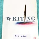 ►ครูพี่แนน Enconcept◄ ENG A854 หนังสือกวดวิชาภาษาอังกฤษคอร์ส Writing มีสรุปเนื้อหาสำคัญในการเขียน Writing ครอบคลุมทั้งในการเขียนบทความสั้นๆ จนถึงระดับ Advanced การเขียน Essay , Journal มีเทคนิค Trick & Tips เยอะมาก มีจุดสำคัญและข้อควรระวัง ในหนังสือมีจดบ้