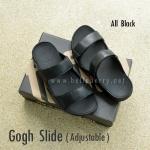 **พร้อมส่ง** FitFlop Gogh Slide ( Adjustable ) : All Black : Size US 12 / EU 45