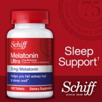 Melatonin ULTRA ขวดใหญ่ขึ้น 365 เม็ด ฮอร์โมนช่วยการนอนหลับ+สมุนไพรเพื่อผ่อนคลาย (ขายดี exp.06/2019) หมด (ไม่มีผลิตแล้ว ตั้งแต่ สค.2560)