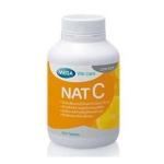 Nat C 1000 mg 30 แคปซูล ช่วยสร้างคอลลาเจน บำรุงผิวและลดรอยแผลเป็น