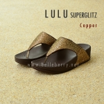 **พร้อมส่ง** FitFlop LULU Superglitz : Copper : Size US 6 / EU 37